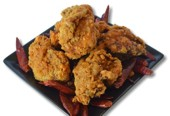 Very Spicy Deep Fried Chicken DEATH Sauce (5 pieces)