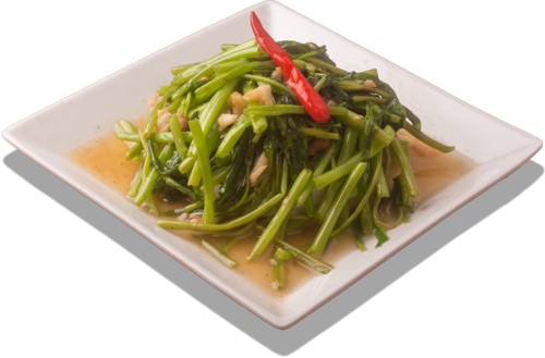 Stir Fried Water Lillies