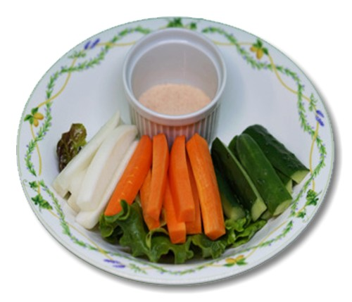 Marinated Vegetable Sticks